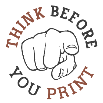 Think before your print pointy finger design