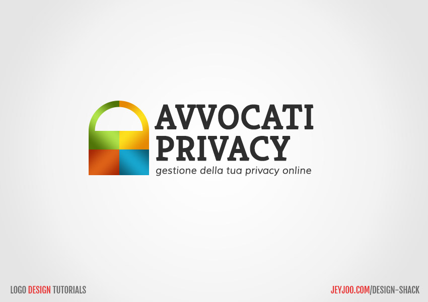Logo for online privacy