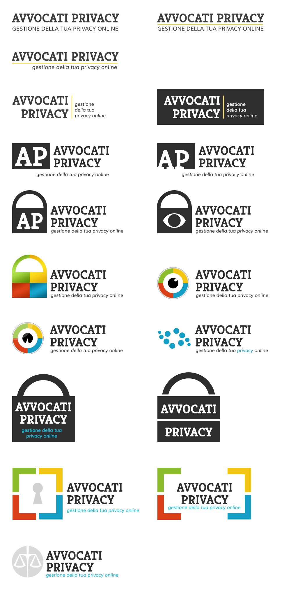 Logo design inspiration for an online privacy company