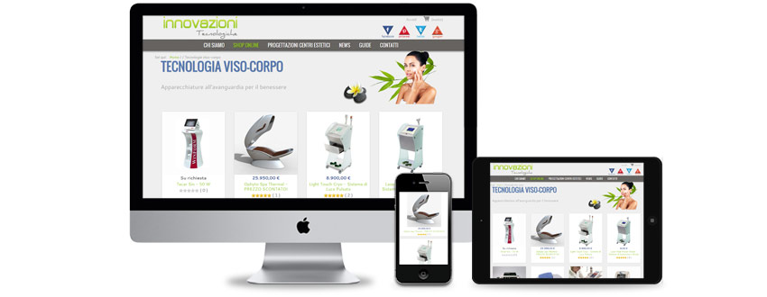 eCommerce website development for a health and fitness retailer