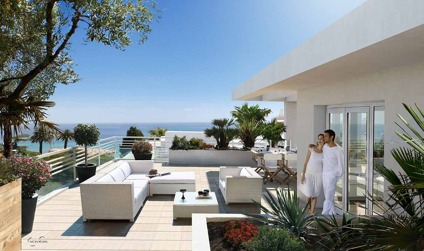 Real estate web design and marketing specialists in the French Riviera