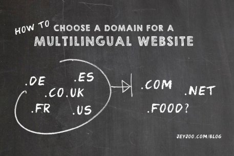 How to choose a domain for an international website