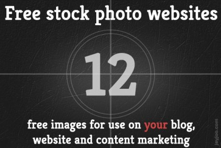 Absolutely free stock photo websites