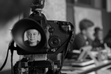 Filming, student video interviews and post production for a school