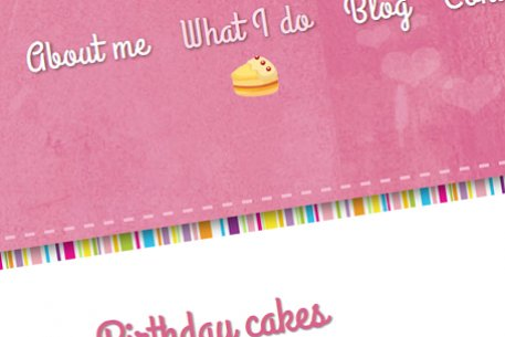 New website design for a local business in catering – Jojo's Cakes