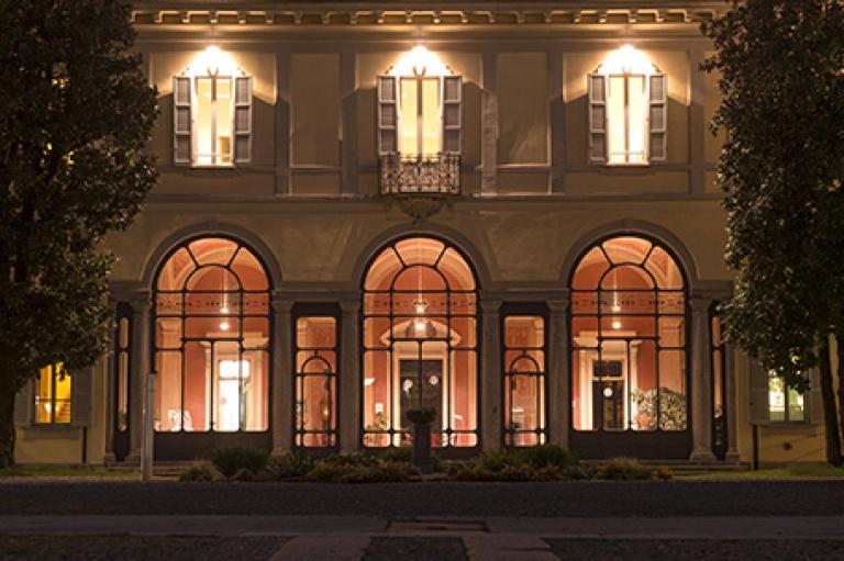 Website design for a retirement home – Villa Cenacolo, Milan