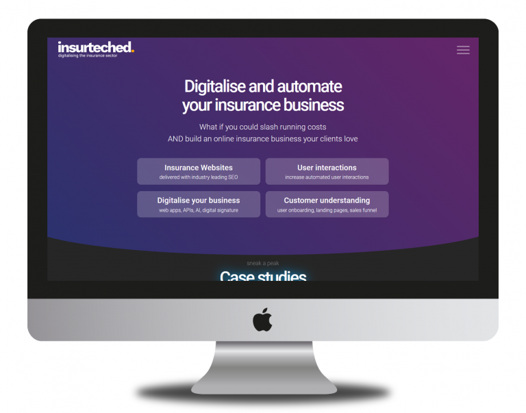 Insurteched - specialised web development and marketing for insurance companies